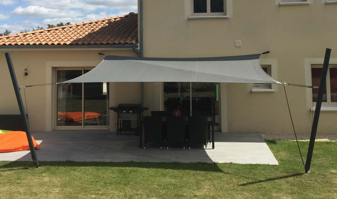 Voile d'ombrage : Une protection efficace ?